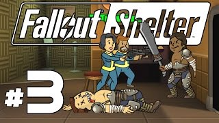 Fallout Shelter PC - Ep. 3 - Raiders in the Med Bay! - Let