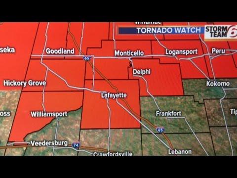 Tornado Watch northern Indiana