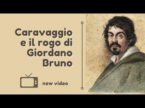 Caravaggio e il rogo di Giordano Bruno