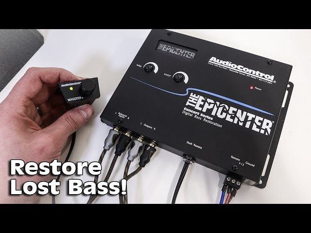 Restore MISSING BASS with the AudioControl EPICENTER