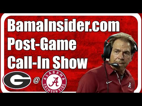 Post Game Call-In Show: Alabama 41, Georgia 24 : Mac Joes throws for 417-yards with 4 TDs