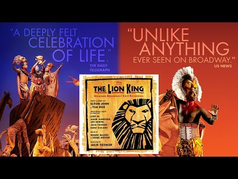 15. The Lion Sleeps Tonight | The Lion King (Original Broadway Cast Recording)