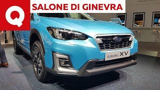Subaru e-boxer, Forester e XV diventano ibride - Salone di Ginevra 2019   Quattroruote