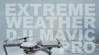 4K - DJI Mavic Pro Extreme Weather Flying - Drone Footage
