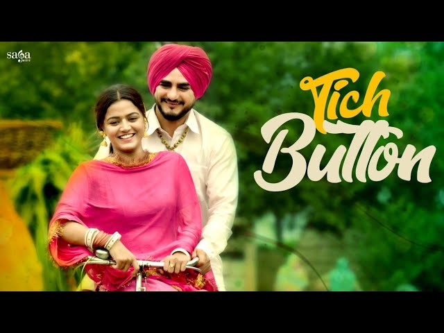 Kulwinder Billa - Tich Button | ਟਿੱਚ ਬਟਨਾ ਦੀ ਜੋੜੀ | Wamiqa Gabbi | Parahuna | New Punjabi Songs 2018