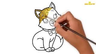 РАСКРАСКИ КОШКИ И КОТЯТА, НЕОБЫЧНО РАСКРАШИВАЕМ / COLORING CATS AND KITTENS UNUSUAL COLOR