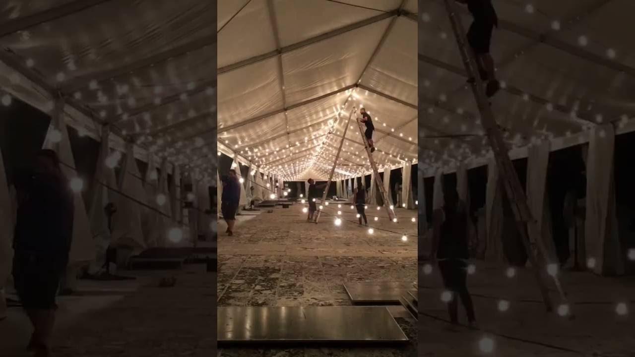 Unearthed Vintage - Event Rentals Miami - Bistro Lighting - Vizcaya ...