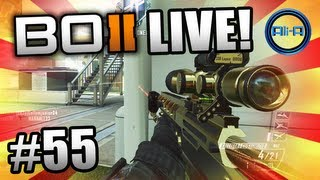 """SNIPING NUKETOWN!"" - BO2 LIVE w/ Ali-A #55 - Black Ops 2 Multiplayer Gameplay"