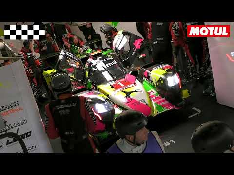 LIVE ONBOARD WITH REBELLION AT LE MANS 24