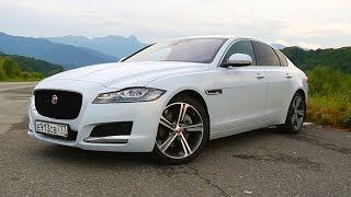 видео: Jaguar XF с самым странным мотором.