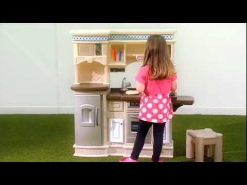 little tikes gourmet prep n serve kitchen youtube rh youtube com