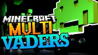 Minecraft | Multi-Vaders! - SPACE INVADERS IN MINECRAFT! (Minecraft Minigame)