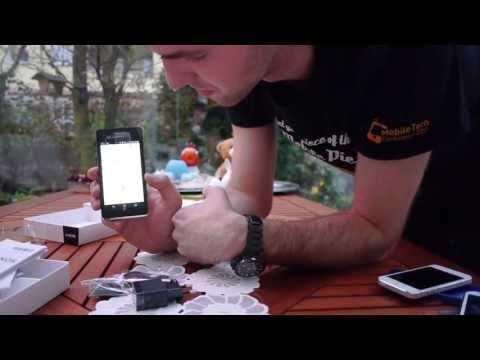 Sony Xperia V im Unboxing [Deutsch]