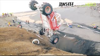 Icelandic 4x4 Formula Offroad - Sand Wall Hill Climb in Hella!