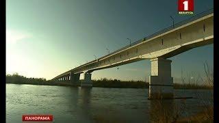 Аварийный мост через Припять между Житковичами и Туровом закрыли. Панорама