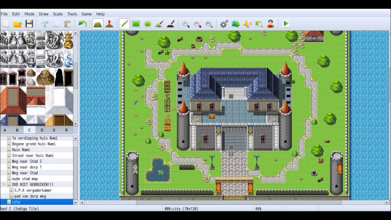 Project rpg maker mv 4 castle part 2 youtube for Apartment complex map maker