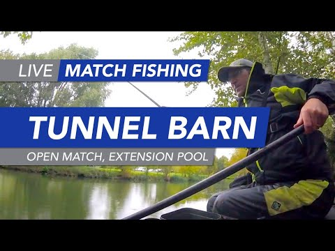 Live Match Fishing: Tunnel Barn Farm, Open Match, Extension Pool