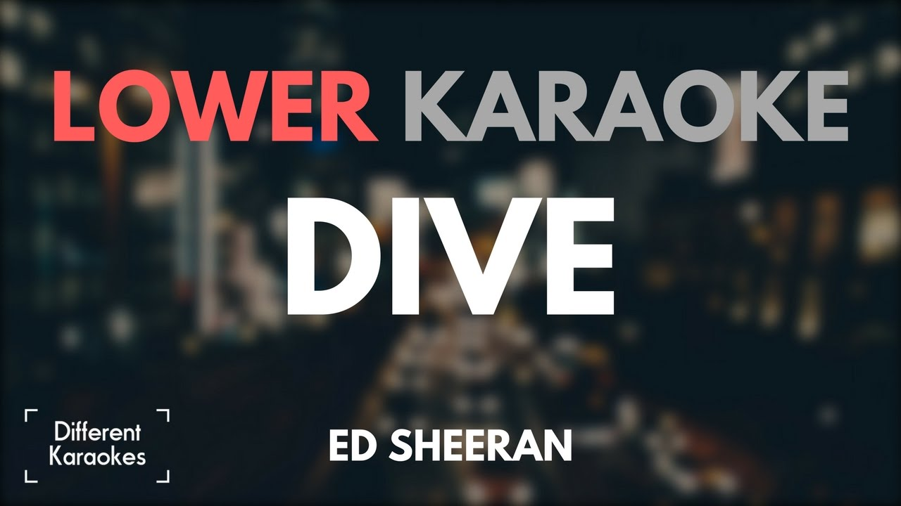 how to play dive by ed sheeran