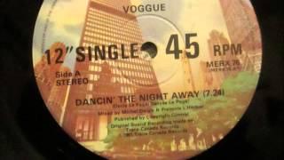 "Voggue  - Dancing the night away. 1981 (12"" Soul/Funk)"