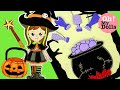 DIY HALLOWEEN COSTUME IDEAS  HALLOWEEN PAPER CRAFTS FOR KIDS  WITCH PAPER DOLLS  DRAWING AND PLAYING