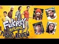 Fukrey Returns Public Review | Pulkit Samrat, Manjot Singh, Ali Fazal, Varun Sharma | Movie Review