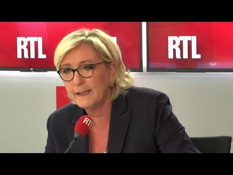 """Marine Le Pen sur RTL : """"Les finances du Rassemblement national vont mal"""""""
