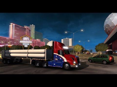 American Truck Simulator   Alpha Build 0.1.60 Gameplay
