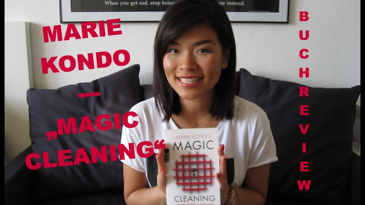 marie kondo magic cleaning wie aufr umen das leben ver ndert buch review youtube