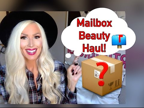 ♥MAILBOX BEAUTY HAUL: MAKEUP, SKINCARE, HAIR PRODUCTS!♥