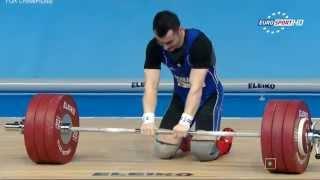 Тяжелая атлетика. Чемпионат Европы 2015 г. Мужчины до 77 кг.