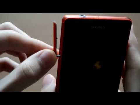 Замена заглушки у телефона Sony Xperia Z3 compact