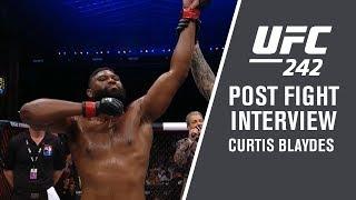 UFC 242: Curtis Blaydes -