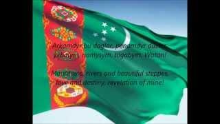 "Turkmen National Anthem - ""Garaşsyz, Bitarap Türkmenistanyň Döwlet Gimni"" (TK/EN)"