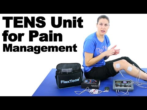 Tens Unit For Pain Management Ems For Muscle Rehab