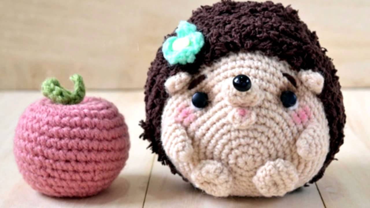 амигуруми схема ежик игрушки вязаные крючком Free Crochet