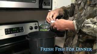 "Fresh Fish For dinner ""How to cook Blue Crabs"""