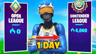 4000 Arena Points In A Day! (Fortnite Arena Gameplay) (Season 6)