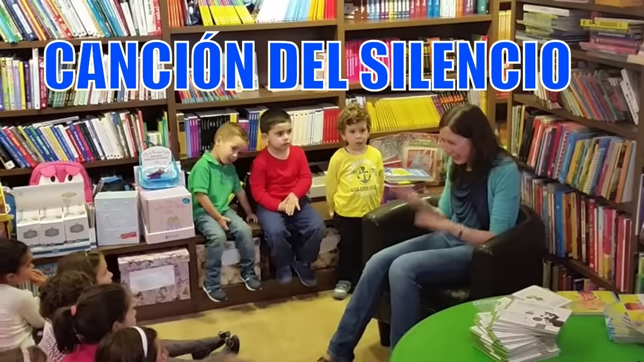 Canci n del silencio para ni os youtube - Dibujos de pared para ninos ...