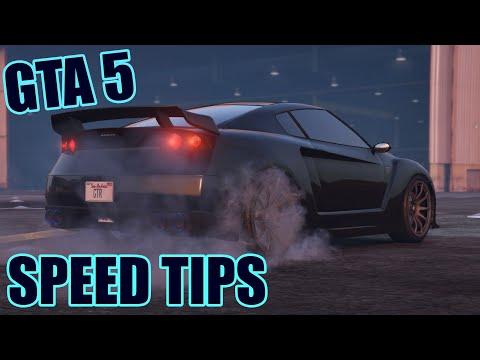 GTA 5 Speed Glitch / Trick - How to Accelerate faster