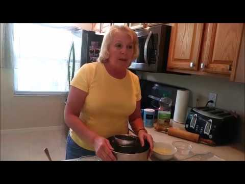 Easy Heart Healthy Pie Crust to Bake or Freeze/ Masa para Tarta