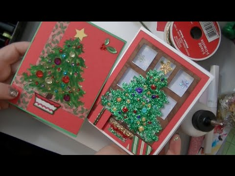 making your christmas cards early by melody lane in the made it for