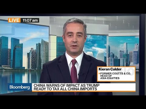 Everyone Is a Loser in Trade War Long Term, Says UBP's Calder