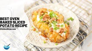 Best Oven Baked Slİced Potato Recipe