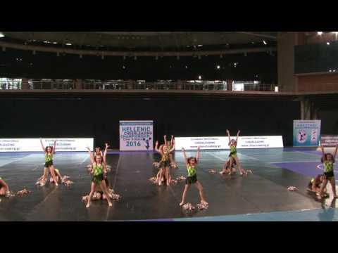 35. LITTLE WOMANS CLUB / JUNIOR B ΟΜΑΔΙΚΟ FREE STYLE POM LARGE / ΛΑΜΙΑ