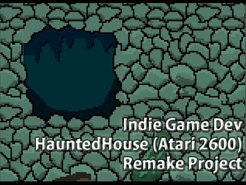 WIP - Haunted House (Atari 2600) Remake graphics