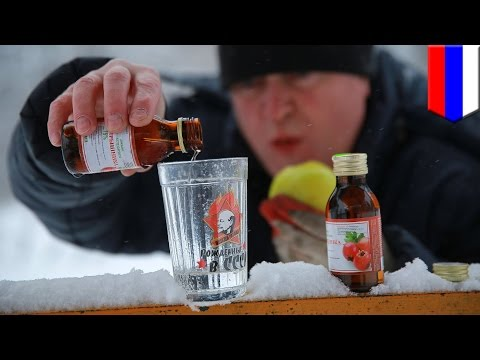 Russia alcohol problem: 49 people die in Siberia after drinking bath liquid to get drunk - TomoNews