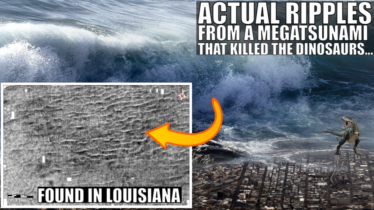 Ripples From Megatsunami That Killed the Dinosaurs Found in Louisiana