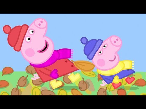 Peppa Pig Episodes - Peppa and the Autumn wind!