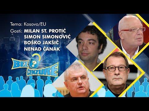 BEZ CENZURE: Kosovo/EU - Milan St. Protić, Nenad Čanak, Boško Jakšić i Simon Simonović