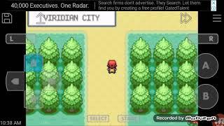 Pokemon Fire Red walk-through episode 1